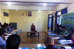 Substance Abuse Workshop & Review Meeting, Dharamsala October 2014