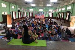 Yoga Camp, South India May 2018